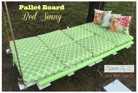 diy pallet board bed swing isavea2z com