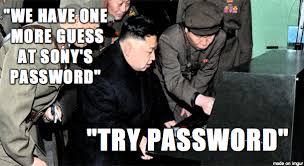 Password Meme - kim jong un guesses sony s password meme on imgur