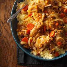 slow cooked moroccan chicken recipe taste of home