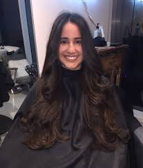a frame hairstyles pictures front and back face framing layers in front with long layers in the back by