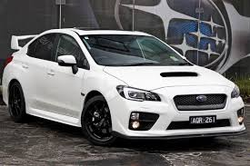 subaru white 2017 2017 subaru wrx premium v1 white for sale in docklands subaru