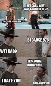 Rick Carl Memes - 296 best twd carl rick memes images on pinterest funny stuff