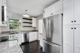 kitchen contemporary kitchen design with white shaker cabinet