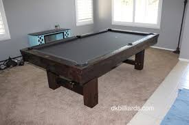 Pool Table Disassembly by Golden West Billiards Backbreaker Dk Billiards Pool Table Sales
