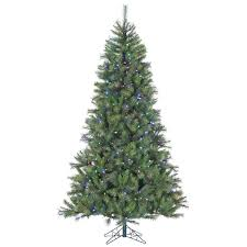 12 ft canyon pine christmas tree with multi color led string home home decor fraser hill farm artificial christmas trees canyon pine trees 12 ft canyon pine christmas tree with multi color led string lighting