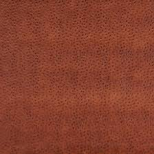 Faux Ostrich Leather Upholstery Rust Copper Orange Ostrich Leather Texture Vinyl Upholstery Fabric
