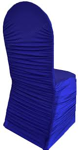 royal blue chair covers royal blue ruched spandex stretch chair cover wholesale
