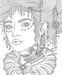 444 best coloring face images on pinterest coloring boho