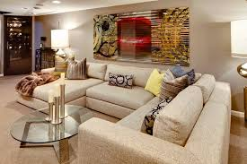 Down Sectional Sofa Minneapolis Thomasville Sectional Sofas Basement Contemporary With