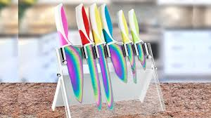 colorful titanium kitchen knives gwyl io