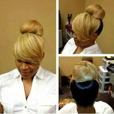 natural hair bun styles with bang 2toned bun bangs all black for me please i love the long