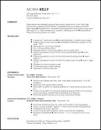 Physical Education Teacher Resume Sample by Free Traditional Sports Coach Resume Template Resumenow