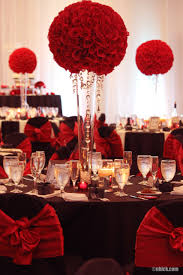 Red And Gold Reception Decoration 10 Ways To Add Big City Glam To Your Wedding Reception Black