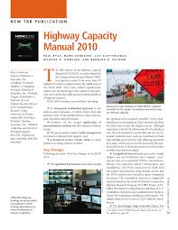 new trb publication highway capacity manual 2010 pdf download