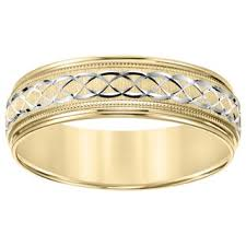 gold mens wedding band men s wedding bands groom wedding rings shop the best deals