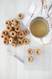 chai spiced paleo donuts with vanilla bean glaze simple roots