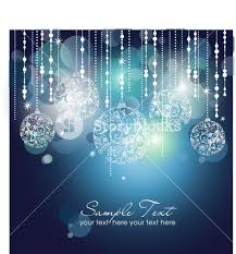 blue christmas background with christmas ornaments royalty free