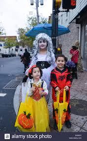 vocaloid halloween monster party night three children in halloween costumes stock photos three children