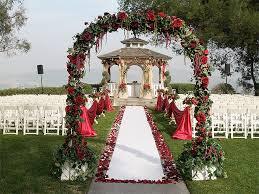 wedding arches los angeles los angeles wedding locations pacific palms resort