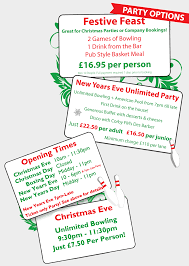 new york thunderbowl kettering christmas party packages