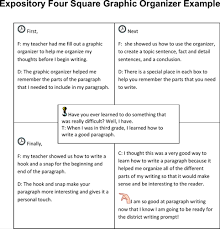 download four square writing templates for free formtemplate