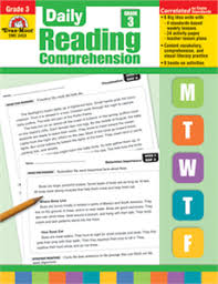 reading comprehension grade daily reading comprehension grade 3 s edition print