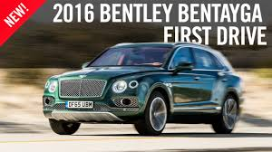 bentley racing green bentley bentayga first drive review youtube