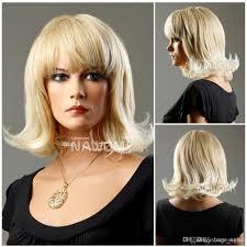 rinka hairdo short blond hair wig japanese hair wig for young