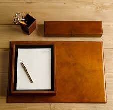 Brown Leather Desk Accessories Leather Desk Accessories Desk Accessories Desks And Leather