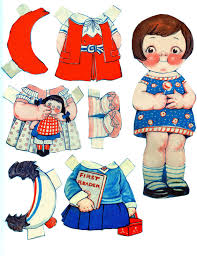 free printable vintage paper dolls graphics fairy