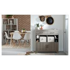 Gray Bar Cabinet Vietti Bar Cabinet With Bottle Storage And Drawers Gray Maple