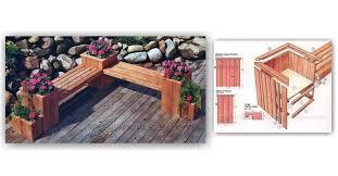 planter bench plans u2022 woodarchivist