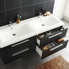 hudson reed quartet 1440mm high gloss grey bathroom vanity double