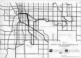 Phoenix Road Map by Urban Freeways