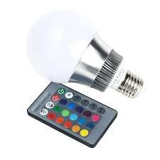 remote control light bulb socket remote control light bulb multi color magic led l light bulb