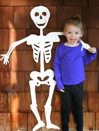 Skeleton Bones For Halloween by Diy Halloween Decoration Life Sized Skeleton