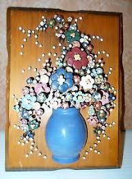 vintage polo craft nail art nails in bloom wall plaque by pauline