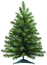 2 foot high x 16 inch wide artificial balsam pine tree