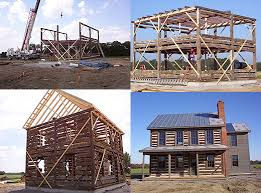 Two Story Log Homes by Examples Of Our Log Cabin Restoration And Relocation Work