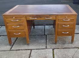 1940s Desk Antiques Atlas Vintage Oak Desk