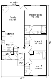 Ranch Style House Plans With Garage Ranch Style House Plan 3 Beds 2 00 Baths 1200 Sqft 21 327 Luxihome