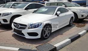 mercedes c350 coupe for sale used mercedes c class coupe 2016 car for sale in dubai
