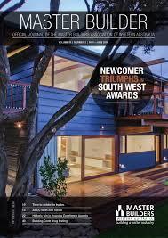 2016 master builders western australia magazine may june by ark
