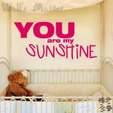 You Are My Sunshine Wall Decor You Are My Sunshine