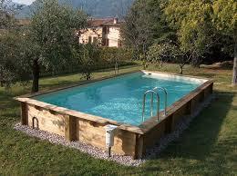 rivestimento in legno per piscine fuori terra le piscine fuori terra solaris