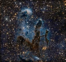 new view of the pillars of creation u2014 infrared esa hubble