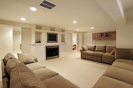 basement fireplaces rooms