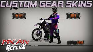 custom motocross helmet 2017 nvrtd gear mx vs atv reflex custom skins youtube