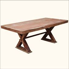 Picnic Table Dining Room The Picnic Bench Style Dining Tables Custom Home Design