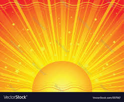 sun rays royalty free vector image vectorstock